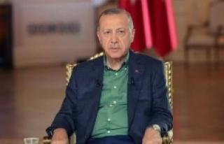 Erdoğan: Ağustos ile birlikte enflasyonda düşüşü...