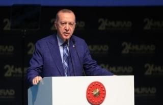 Erdoğan: 2053 vizyonumuzu şekillendireceğimiz bir...