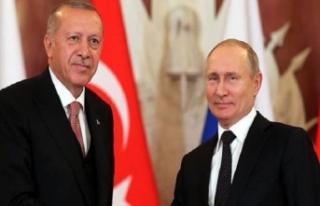 Erdoğan ile Putin bir araya geldi: Suriye'de...