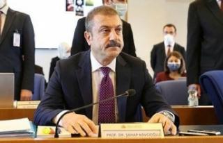 Merkez Bankası Başkanı Kavcıoğlu: Faiz indirimi...