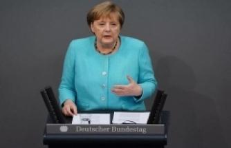 Merkel'den Türkiye açıklaması: Diyalog gündemini hızla hayata geçirmeliyiz