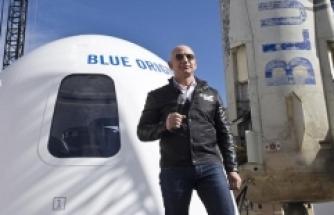 Blue Origin'den gelecek uzay uçuşları için 100 milyon dolarlık bilet satışı
