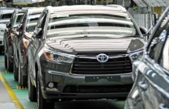 Toyota küresel üretim tahminini bir kez daha düşürdü